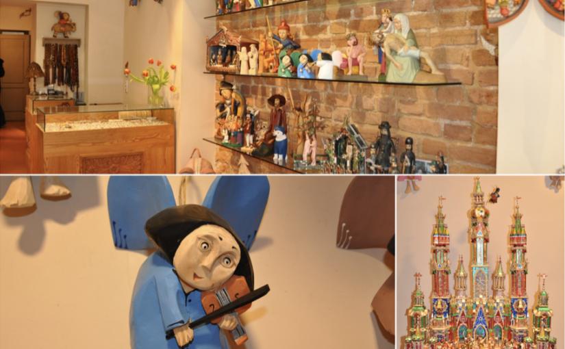 Drewniane ręcznie tworzone anioły oraz szopki bożonarodzeniowe dobre na prezent